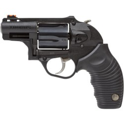 "TAURUS 605 POLYMER .357 2"" FS 5-SHOT BLUED RUBBER GRIP"