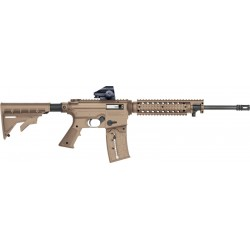 "MB 715T .22LR W/30MM GRN DOT 25-SHOT 16.25"" 6-POS. STK FDE"