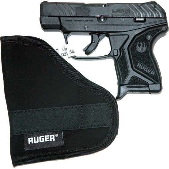 RUGER LCP II .380 ACP 6-SHOT FS BLUED BLACK SYNTHETIC