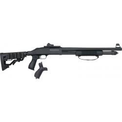 "MB 500SPX 12GA 3"" 6-SHOT 18.5  CYL GHOST RING ADJ. STK."