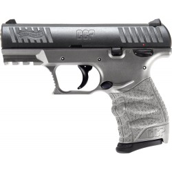 "WALTHER CCP M2 9MM 3.54"" FS 8-SHOT TUNGSTEN GRAY POLYMER"
