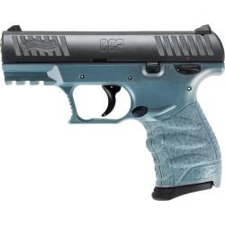"WALTHER CCP M2 9MM 3.54"" FS 8-SHOT BLUE TITANIUM POLYMER"