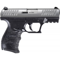 WALTHER CCP M2 .380ACP 3.54 FS 8-SHOT STAINLESS BLACK POLYMER