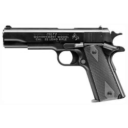 WALTHER COLT 1911 .22LR PISTOLGOVERNMENT AS 12-SHOT BLUED