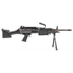 FN M249S 5.56MM NATO BLACK MILITARY COLLECTOR SERIES