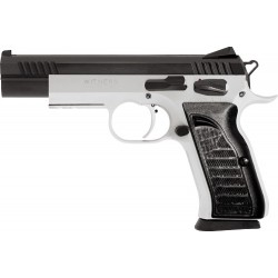 EAA WITNESS MATCH 9MM LUGER FS 15-SH 2-TONE BLACK SYNTHETIC GRIPS
