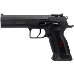 EAA WITNESS MATCH PRO 9MM 19-SH BL/BLACK POLY W/RAIL
