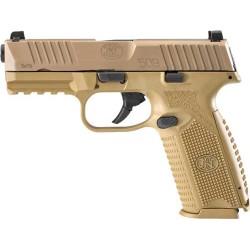 FN 509 9MM LUGER 17-SHOT FDE FRAME/FDE SLIDE