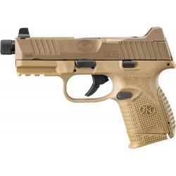 FN 509 COMPACT TACTICAL 9MM 1-24RD/15RD/12RD NS FDE/FDE