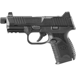 FN 509 COMPACT TACTICAL 9MM 1-24RD/15RD/12RD NS BLK/BLK