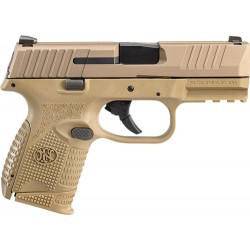 FN 509 COMPACT 9MM LUGER 1-12RD 1-15RD FDE