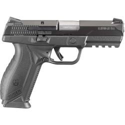 RUGER AMERICAN 9MM LUGER FS 10-SHOT BLACK MATTE SYNTHETIC