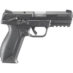RUGER AMERICAN 9MM LUGER FS 10-SHOT BLACK MASS. APPROVD