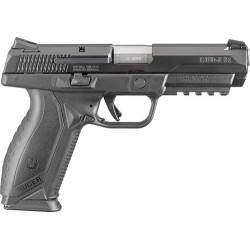 RUGER AMERICAN .45 ACP 10-SHOT BLACK MASS  APPROVED