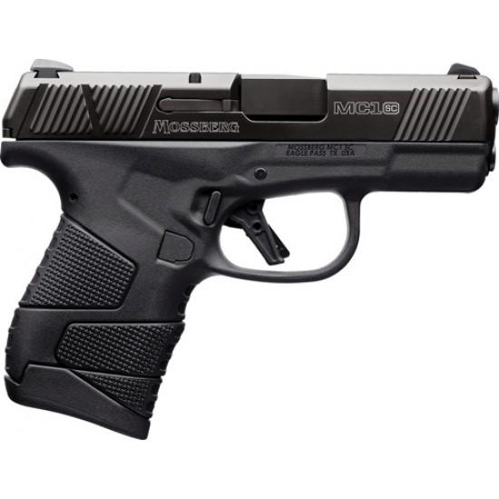 "MOSSBERG MC-1 9MM LUGER 3.4"" 7-SHOT BLACK W/MANUAL SAFETY"