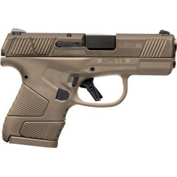 """MB MC-1 9MM LUGER 3.4"""" 7-SHOT FDE W/MANUAL SAFETY"""