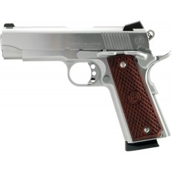 AMERICAN CLASSIC COMMANDER 9MM ADJ WOOD 9-SHOT CHROME