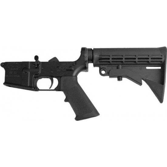 ANDERSON COMPLETE AR-15 LOWER RECEIVER 5.56 BLACK