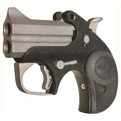 "BOND ARMS BACKUP 2.5"" BARREL .45 ACP SS/BLACK MATTE RUBBER"