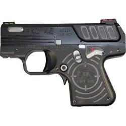 HEIZER DEF. PKO-45 SEMI-AUTO .45 ACP 1-7RD 1-5RD JET BLACK
