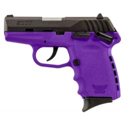 SCCY CPX1-CB PISTOL DAO 9MM 10RD BLACK/PURPLE MANUAL SAFE