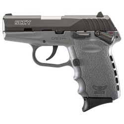 SCCY CPX1-CB PISTOL DAO 9MM 10RD BLACK/SNIPER GRAY SAFETY