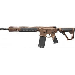 "DANIEL DEF. M4 CARBINE M4A1- MSP 5.56X45 14.5"" 32RD BROWN"