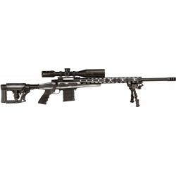 """LEGACY HOWA FLAG CHASSIS GRAYSCALE .308 WINCHESTER 24"""" THREADED"""