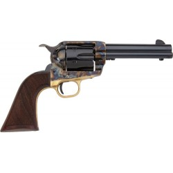 "E.M.F. ALCHIMISTA II .357 MAGNUM 4-3/4"" BLUE CHECKERED WALNUT"