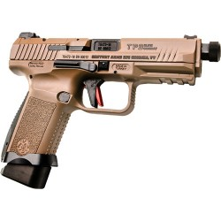 CI CANIK TP9 ELITE COMBOAT 9MM PISTOL 1-15 & 1-18 RD MAG DESERT TAN