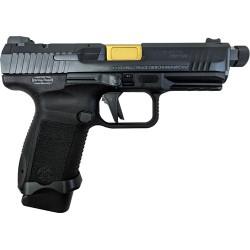 CI CANIK TP9 ELITE COMBAT EXEC, 9MM 1-18RD MAG BLACK POLYMER FRAME