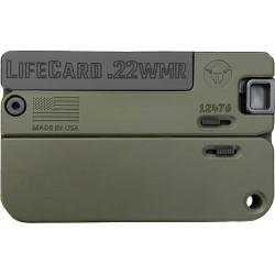TRAILBLAZER LIFECARD .22WMR SINGLE SHOT OLIVE DRAB GREEN