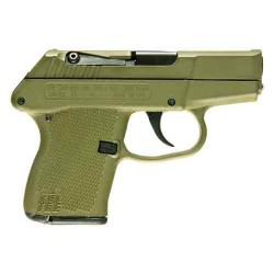 KEL-TEC P-3AT .380 ACP DA FS 6SH GREEN SLIDE/GREEN GRIP
