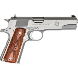 "SF 1911 .45 ACP MIL-SPEC 5"" FS 7-SHOT STAINLESS STEEL"