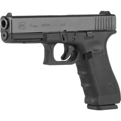 GLOCK 17 9MM GEN-4 MOS FIXED SIGHTS 17-SHOT BLACK