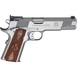 SF 1911 LOADED TARGET 9MMAS 9-SHOT STAINLESS WOOD