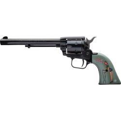 "HERITAGE .22LR 6"" FS BLUED PINUP ACE IN THE HOLE  (TALO)"