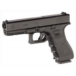 GLOCK 17 9MM LUGER FS 17-SHOT BLACK
