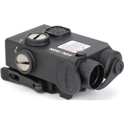 HOLOSUN CO-ALIGNED DUAL LASER RED & IR LASER COAXIAL SIGHT