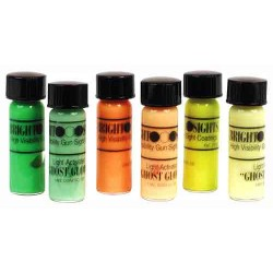 TRUGLO GHOST GLOW SIGHT PAINT KIT 3 COLORS LUMINESCENT PAINT