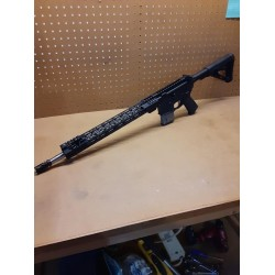 """USED ANDERSON AM15 223 WYLDE 16"""" STAINLESS BARREL M-LOC"""