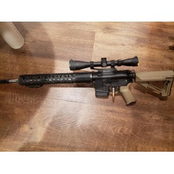 Used AR15 - 223 WYLDE CHAMBER FOR .223 OR 5.56NATO - STAINLESS STEEL SPIRAL FLUTED BARREL & Ni BORON BOLT - NYS KIT INCLUDED - SCOPE & BIPOD MOUNT NOT INCLUDED