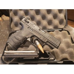 USED WALTHER P22 22LR W/2 MAGS AND CASE - EXCEL CONDITION