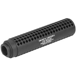 GUNTEC AR15 FAKE SUPPRESSOR SOCOM STYLE 1/2X28 TPI BLACK